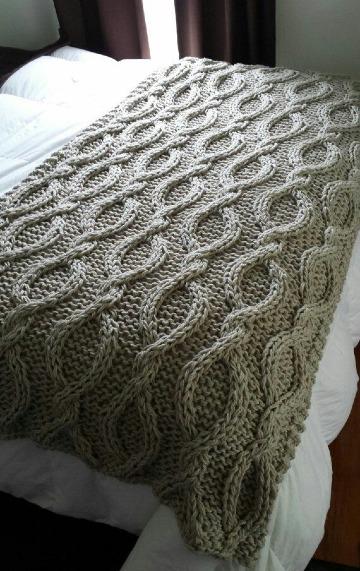 como hacer una manta de lana paso a paso