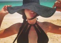 Diseños de sombreros de playa para mujer en 4 ejemplos