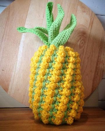 ideas de adornos tejidos a crochet para cocina