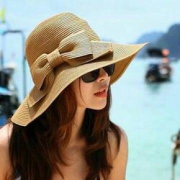 sombreros de playa para mujer