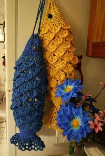 imagenes de adornos tejidos a crochet para cocina