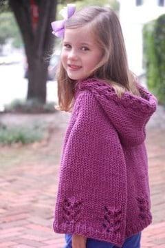 imagenes de capitas tejidas a crochet para niña