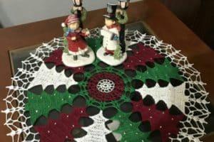 6 trucos de como hacer un mantel a crochet original