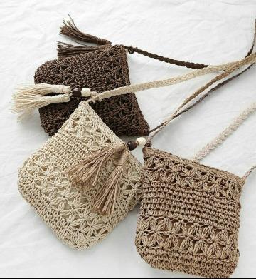 modelos de bolsas tejidas a crochet paso a paso