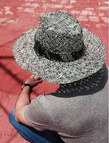 sombreros de playa para hombre 2019