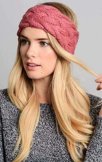 como hacer diademas a crochet para dama