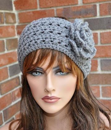 diseños de vinchas tejidas a crochet