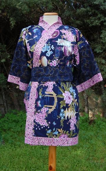 imagenes de kimonos cortos japoneses