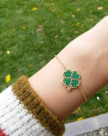 imagenes de pulseras tejidas con mostacillas