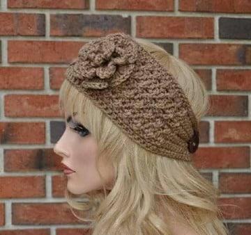 imagenes de vinchas tejidas a crochet