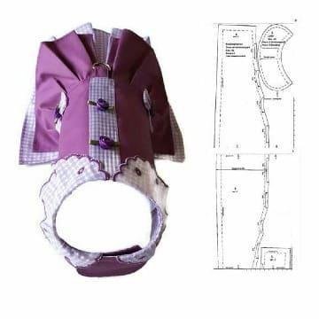 modelos de patrones de vestidos para perritas