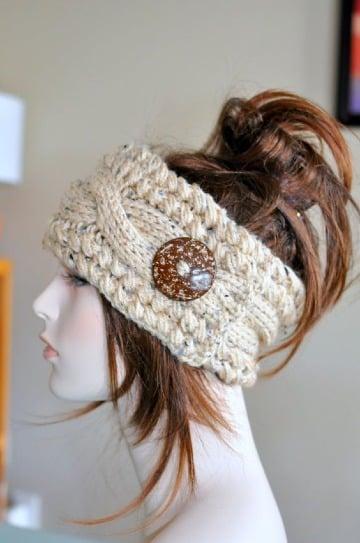 modelos de vinchas tejidas a crochet