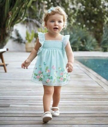 bonitos vestidos de niña de tres años