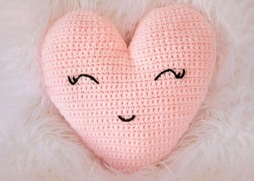 corazon a crochet paso a paso facil