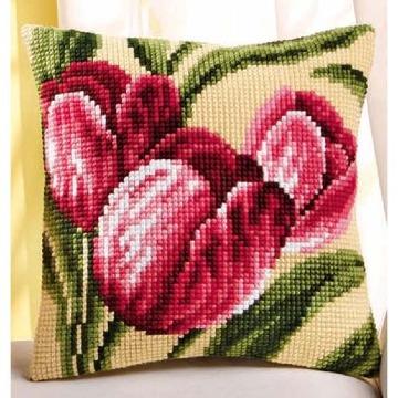 diseños de almohadones de punto de cruz