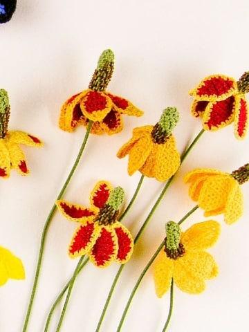 flores grandes a crochet paso a paso