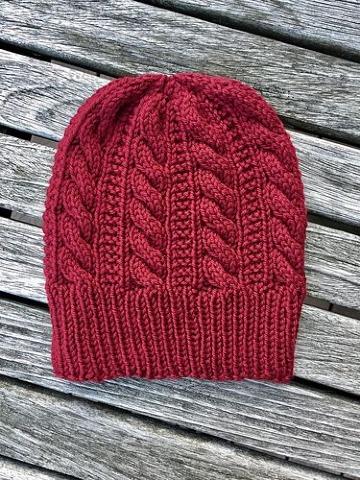 gorros de lana tejidos a palillos para hombres