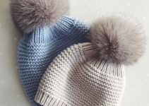 Esplendidos gorros de lana tejidos a palillos con 3 puntos