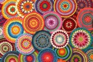 2 puntos para lograr mandalas a crochet paso a paso