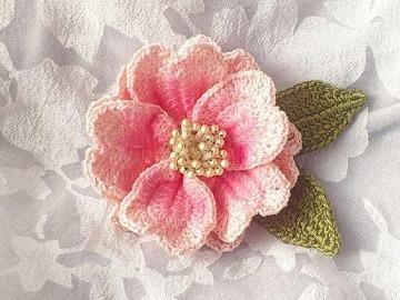 imagenes de modelos de flores a crochet