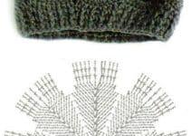 4 diferentes puntos a crochet para gorros originales