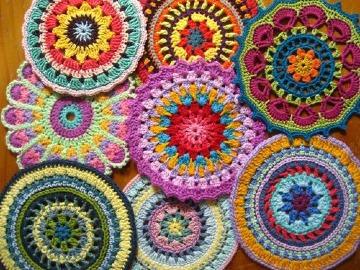 mandalas a crochet paso a paso grandes