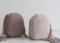 Originales bolsos de trapillo a ganchillo verano 2019