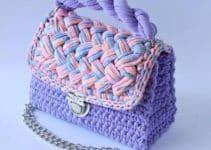 Modelos de bolsos de trapillo de moda para el 2019