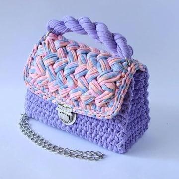 modelos de bolsos de trapillo elegantes