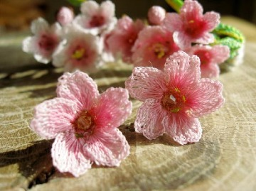 modelos de flores a crochet faciles