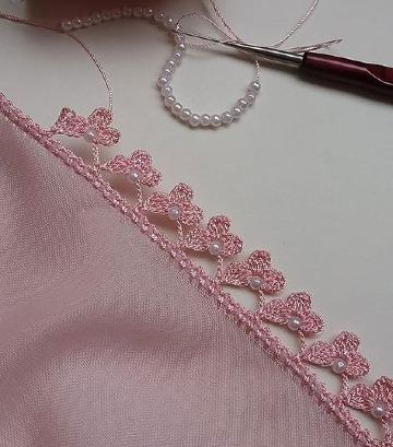modelos de orillas de crochet para blusas