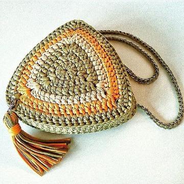 originales bolsos de trapillo a ganchillo