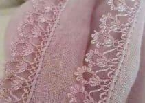 Originales orillas de crochet para blusas de 5 colores