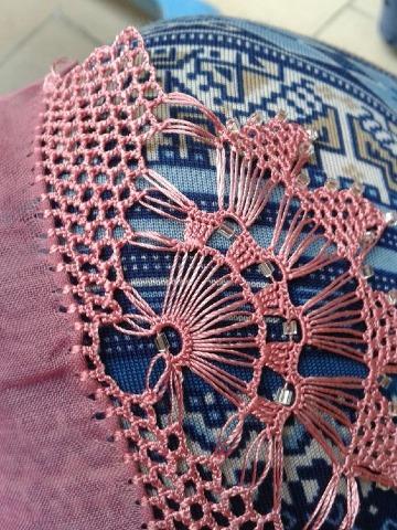 orillas de crochet para blusas odernas
