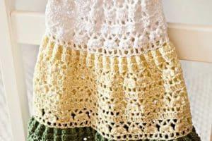 6 puntos a crochet para vestidos de diversos tamaños