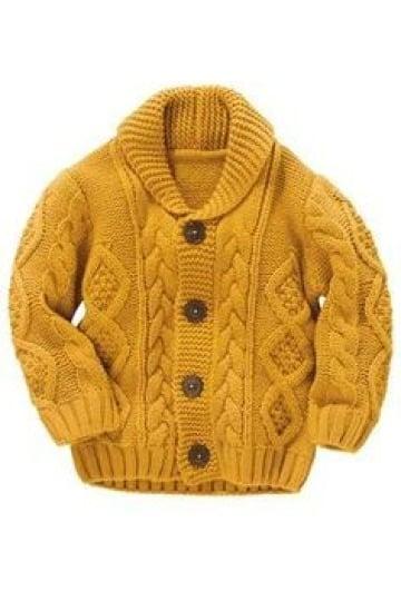 chalecos para niños tejidos a palillo patrones