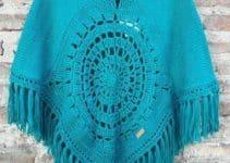 Diseños chales tejidos a mano regalos 10 de mayo