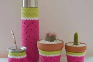 4 ideas para decoracion en crochet para el hogar