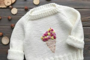 5 pasos de como hacer un sueter tejido para niña