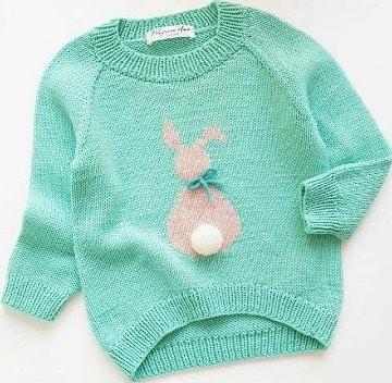como hacer un sueter tejido para niña de 6 años