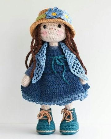 como tejer muñecas a crochet faciles