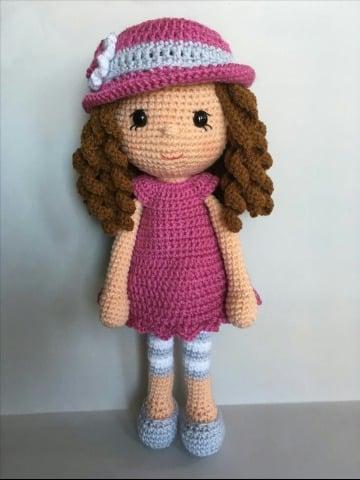 como tejer muñecas a crochet para niñas