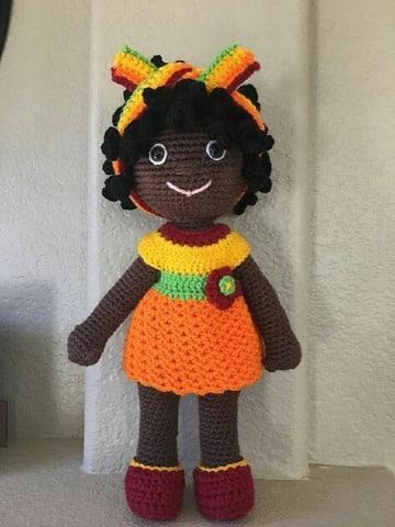 como tejer muñecas a crochet paso a paso