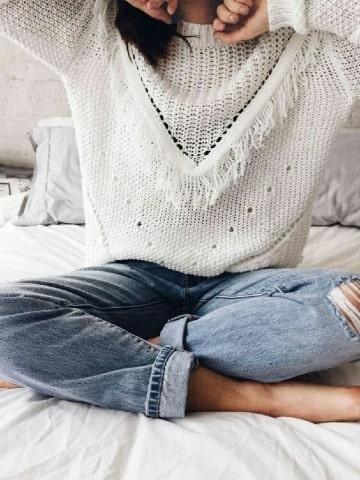 diseños de sweaters tejidos a crochet