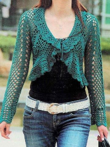 diseños de toreritas tejidas a crochet