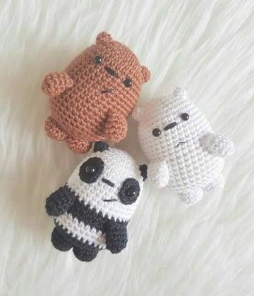 imagenes de animalitos tejidos a crochet