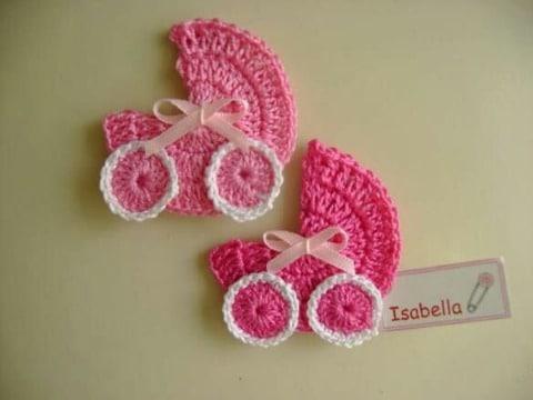 imagenes de miniaturas en crochet para baby shower