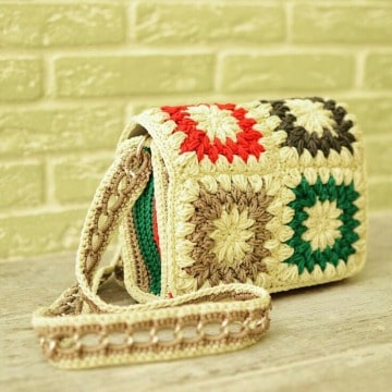 imagenes de modelos de bolsos tejidos a crochet