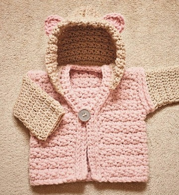imagenes de saquitos tejidos para bebe
