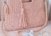 4 diseños de bolsos tejidos paso a paso facilmente